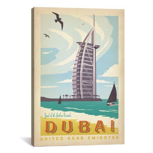 iCanvasART DubaiUnited Arab Emirates by Anderson Design Grou...