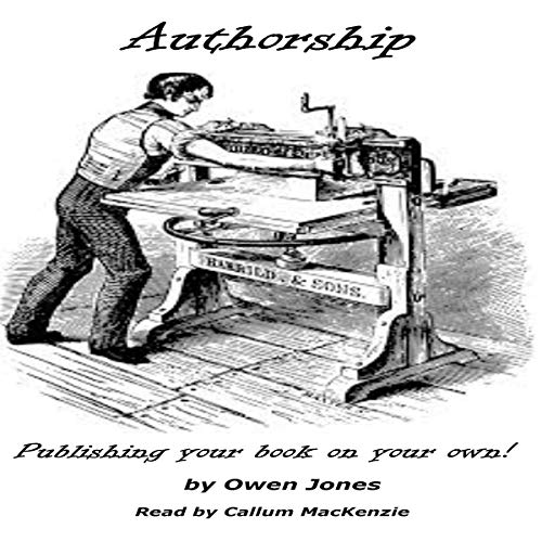 Authorship audiobook cover art