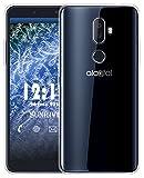 Sunrive Für Alcatel 3V Hülle Silikon, Transparent Handyhülle Schutzhülle Etui Hülle für Alcatel 3V(TPU Kein Bild)+Gratis Universal Eingabestift