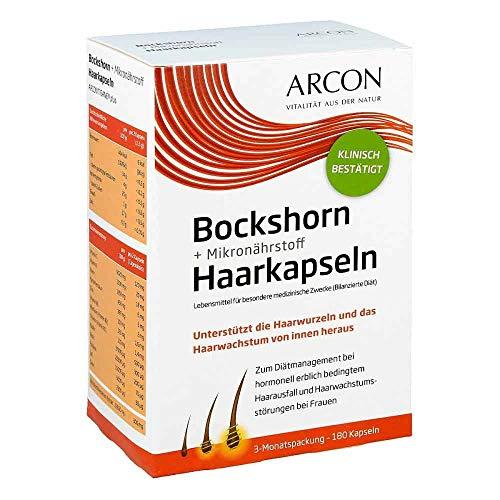 Arcon Bockshorn + Mikronährstoff Haarkapseln, 180 St. Kapseln