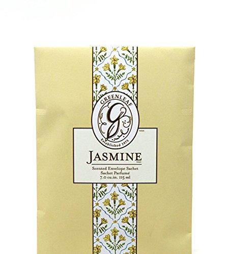 Unbekannt Greenleaf - Duft-Sachet Duftsäckchen Dufttüte Duftgranulat Duftbeutel Jasmine