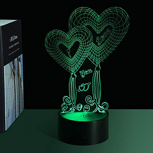 Phantom 3D Nachtlicht Led Tischlampe Acryl Cartoon Usb PlugIn Lichtsteuerung Led Flutlicht Touch Bunte Nachtlicht, o