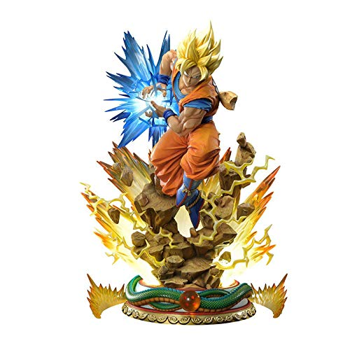 zzdgfc Dragon Ball DX 25Cm Goku Anime Figures Action Figure Super Saiyan Toys Dragon Ball Super Anime Figurine Collectible Toy