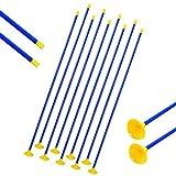 SHARROW 12/24pcs Flechas Ventosa Flechas de Niños Sucker Arrow Caza Práctica de Tiro al Aire Libre para el Recurvo Compuesto Flechas de Arco Juego Juego de Juguete para Jóvenes (12)