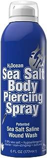 H2OCEAN Sea Salt Body Piercing Aftercare Spray 6 fl. oz