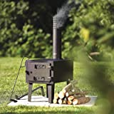 Kotula's Outdoor Wood-Burning Stove
