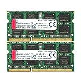 キングストン ノートPC用 メモリ DDR3L 1600 (PC3L-12800) 8GB×2枚 CL11 1.35V Non-ECC SO-DIMM 204pin KVR16LS11K2/16 永久保証