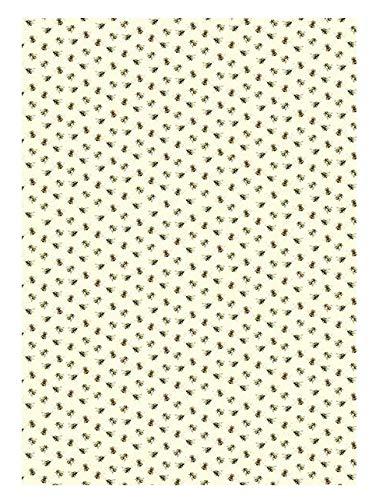 Arty Designer Geschenkpapier, Design Buzzing Bienen