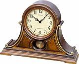 Rhythm Clocks 'Tuscany II' Wooden Musical Mantel Clock