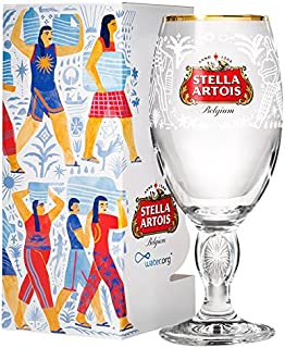 Stella Artois 526448 Buy a Lady a Drink Limited Edition Philippines Chalice, Clear