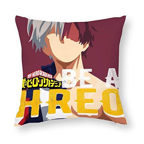 XCNGG My H-e-r-o Ac-ad-em-ia Federa Boku no Hero Academia Cuscini decorativi per divano letto 18 'x18' '1 pezzo