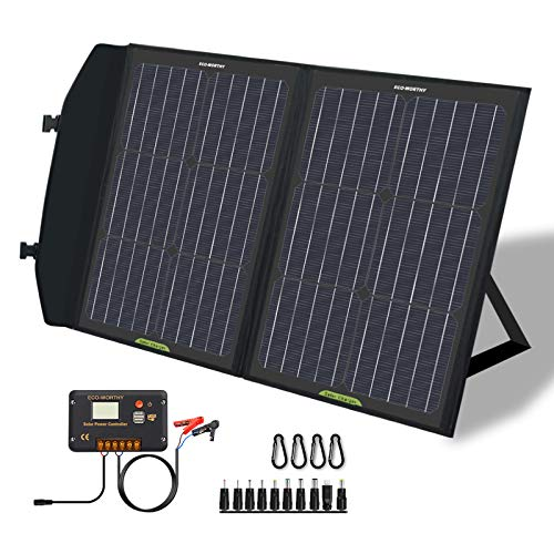 solar panels for camping eco-worthy