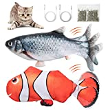 Gatibilin Electric Fish Cat Toy, 4D Realistic...
