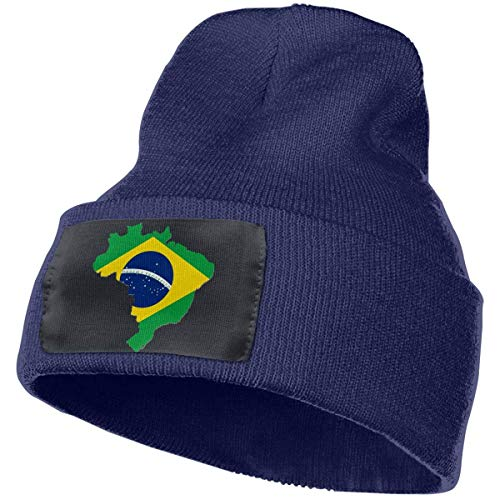 KLing Berretto Unisex Brasile Berretto Invernale Cappello Caldo Lavorato a Maglia