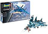 Revell- Sukhoi Su-33 Navy Flanker Maquette, 3911, Bleu