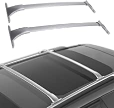 Cross Bars Roof Racks, Cargo Carrier Luggage Rack for 2014 2015 2016 2017 2018 Nissan Rogue, Crossbars Cargo Max Load 150 LBS