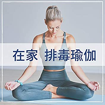 在家排毒瑜伽 - 冥想,放松时间,伸展,按摩