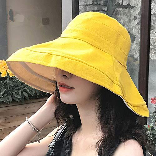 Lanly - Sombrero de sol con protección UV, unisex, UPF 50,