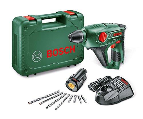 Bosch Home and Garden 0 603 984 007 Herramienta multifuncional, 21.6 W, 10.8 V, Negro y verde