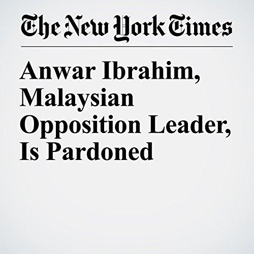 Anwar Ibrahim, Malaysian Opposition Leader, Is Pardoned copertina