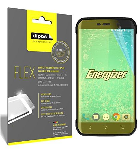 dipos I 3X Schutzfolie 100prozent kompatibel mit Energizer Hard Hülle H550S Folie (Vollständige Bildschirmabdeckung) Bildschirmschutzfolie