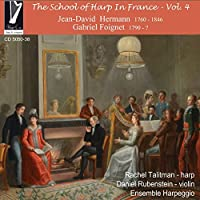 Hermann: The School of Harp in France Vol 4 by Rachel Talitman