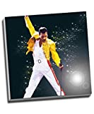 Leinwanddruck, Motiv: Freddie Mercury Queen, 50,8 cm x 50,8