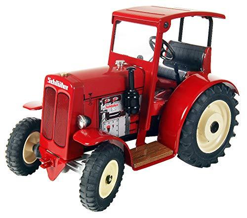 KOVAP SCHLÜTER DS 25 Traktor mit Dach, rot