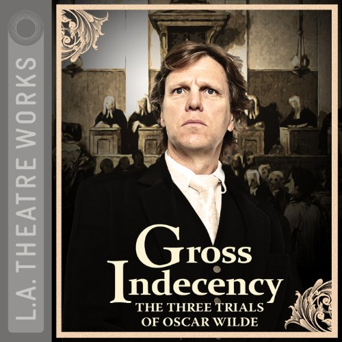 Gross Indecency     The Three Trials of Oscar Wilde              By:                                                                                                                                 Moisés Kaufman                               Narrated by:                                                                                                                                 Matthew Wolf,                                                                                        Douglas Weston,                                                                                        John Vickery,                   and others                 Length: 2 hrs and 19 mins     38 ratings     Overall 4.4