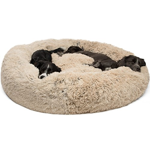 Best Friends by Sheri Calming Shag Vegan Fur Donut Cuddler