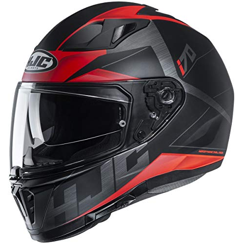 HJC i70 Helmet - Eluma (Medium) (RED/Black)