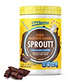 Plant Based Protein Powder - Kids Protein Shake with Multivitamins - Kids Vitamin and Probiotics for...