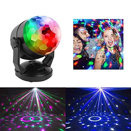 ENUOLI Car music rhythm lamp led flashing DJ atmosphere light small magic...