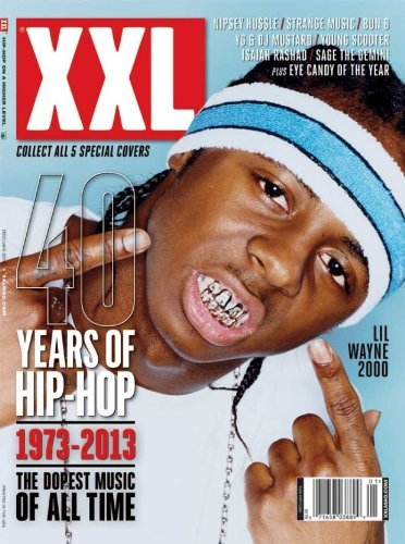 XXL Magazine (Dec/Jan 2014) 40 Years of Hip Hop - Lil Wayne Cover - 2000