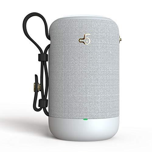 Bravoy - Mini Altavoz portátil con Bluetooth, Radio FM, inalámbrico, Impermeable, 20 W, Bluetooth, Sistema de Sonido Hi-Fi