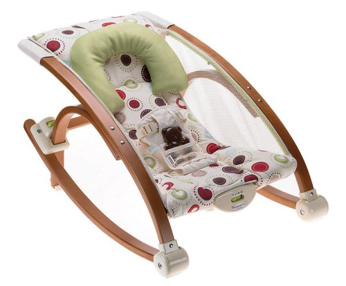 Fisher-Price P7538-0 - Baby Gear houten schommelstoel