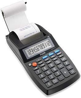 Calculadora Compacta Elgin MA5111 com bobina, Elgin, 42MA51110000, Preta
