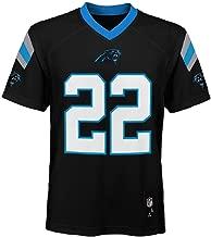 Outerstuff Christian McCaffrey Carolina Panthers NFL Youth Black Home Mid-Tier Jersey