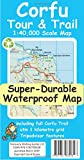 Corfu Tour & Trail Super-Durable Map (2nd ed)