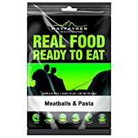 Wayfayrer Food - Meatballs And Pasta - Camping and Hiking Food ready to go.