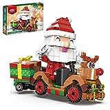 WWEI Babbo Natale renna auto mattoncini calendario dell'Avvento gioco di...