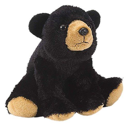 Lashuma Cuddlekins Plüschtier Schwarzer Bär, Kuscheltier Teddy 20 cm