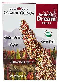 Andean Dream Organic Quinoa Fusilli Pasta 8 Ounce -- 12 per case.12