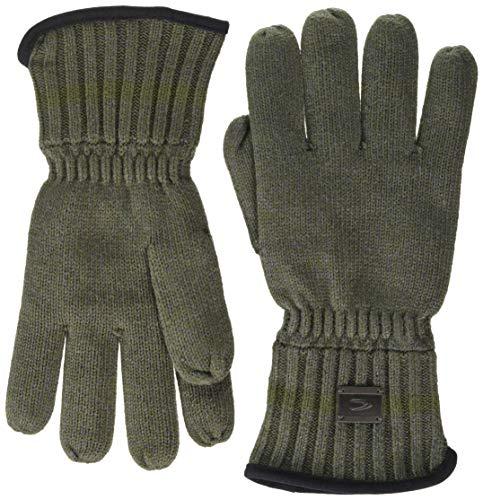 camel active Herren 4083104G3139 Winter-Handschuhe, Khaki, XXL