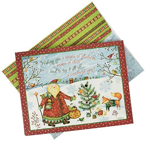 Lang Santa's Gift Boxed Christmas Cards (1004835)