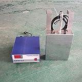 Drohneks Caja de transductor ultrasónico Sumergible multifrecuencia de 25khz 1000W Máquina de Limpieza Sumergible ultrasónica con Fuente de alimentación de accionamiento