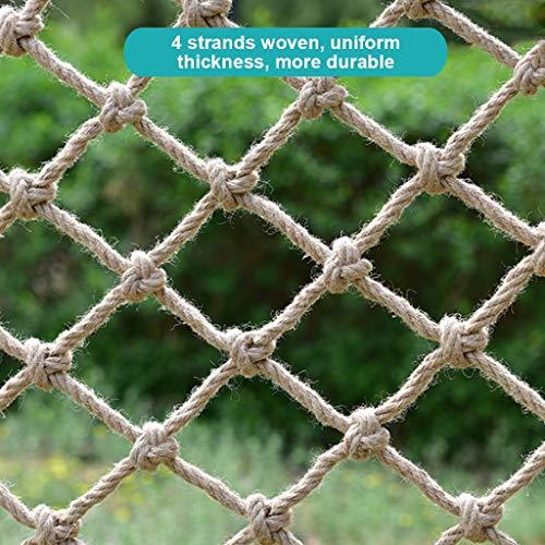 HUANPIN Kletternetz Kinder,Indoor-Schutznetz, Freiensport-Entwicklungstraining Krabbelnetzwand-Schutznetz-Spielplatz-Ausrüstung, Ab 3 Jahren,12mm,1.5×2M