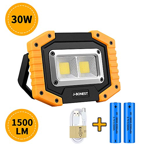 Professionnel DEL Batterie stableuchte 800 Lm ip65 Magnétique de Voiture Travail Lampe Atelier Lampe