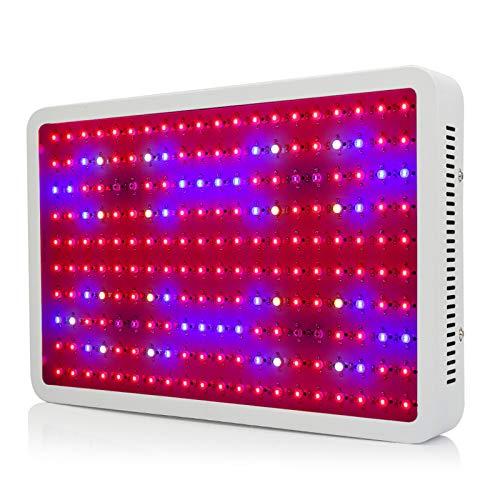 MEFKY 2000W LED Plant Grow Lights Colgando Planta Espectro Completo con Un Potente Sistema Disipación Calor para Plantas Interior Veg Y Flor