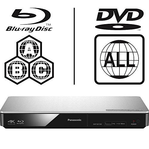 Panasonic DMP-BDT280EB Smart 3D 4K Upscaling ICOS Multi Region All Zone Code Free Blu-ray Player. Blu-ray zones A, B and C, DVD regions 1-8. YouTube, Netflix etc. HDMI output. HDD Playback